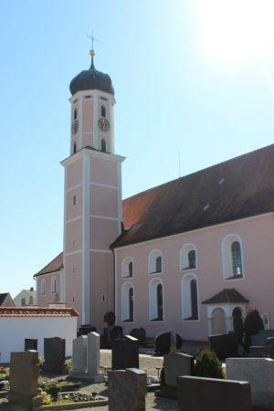 Kirche St. Michael Lutzingen (Foto: VG Höchstädt)