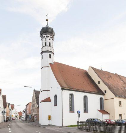 Spitalkirche Höchstädt (Foto: STUDIO-E. GmbH; Fotograf Florian Imberger)