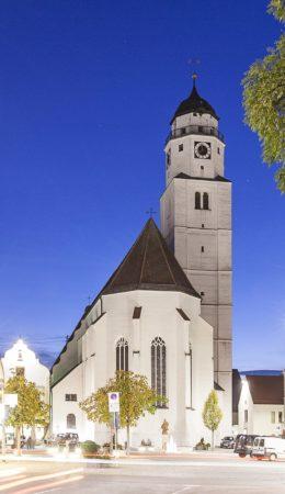 Stadtpfarrkirche Mariä Himmelfahrt (Foto: STUDIO-E. GmbH; Fotograf Florian Imberger)