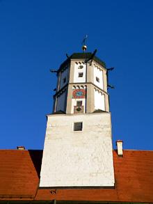 Turm Schloss Höchstädt