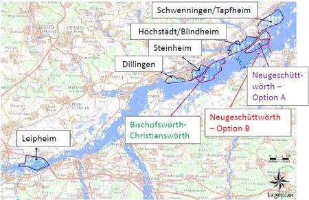 Standorte Flutpolder