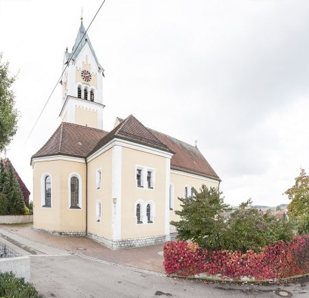 Kirche St. Johannes Oberfinningen (Foto: STUDIO-E. GmbH; Fotograf Florian Imberger)