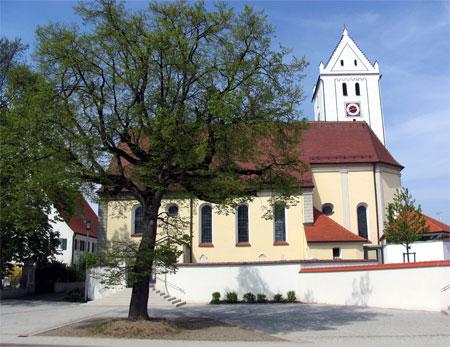 Kirche St. Martin Mörslingen (Foto: Gemeinde Finningen)