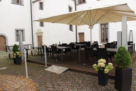 Schlosscafé Höchstädt (Foto: Roswitha Riedel)
