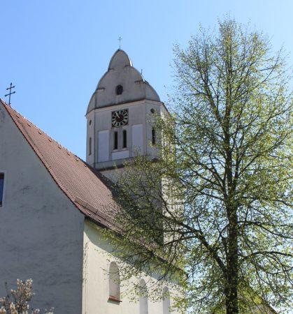 Kirche St. Oswald Oberglauheim (Foto: VG Höchstädt)