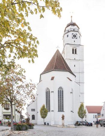 Stadtpfarrkirche Mariä Himmelfahrt Höchstädt (Foto: STUDIO-E. GmbH; Fotograf Florian Imberger)