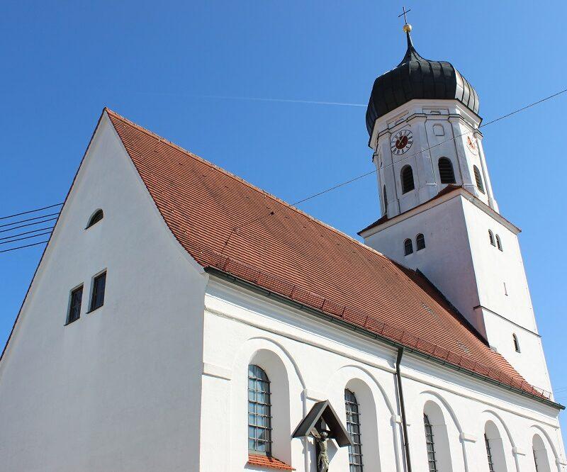 Kirche St. Nikolaus Deisenhofen (Foto: VG Höchstädt)