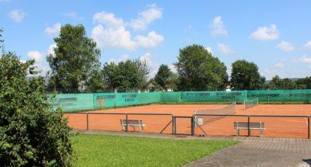 Tennisplatz Lutzingen (Foto: VG Höchstädt)