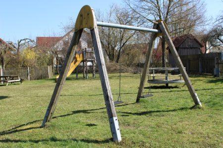 Spielplatz Ahornstraße (Foto: VG Höchstädt)
