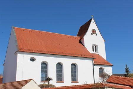 Kirche Maria Immaculata Schwennenbach (Foto: VG Höchstädt)