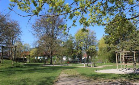 Spielplatz Lindenallee Höchstädt (Foto: VG Höchstädt)