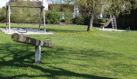 Spielplatz Mörikeweg Höchstädt (Foto: VG Höchstädt)