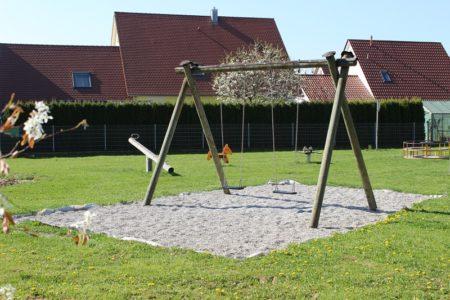 Spielplatz Adolph-Kolping-Straße Höchstädt (Foto: VG Höchstädt)