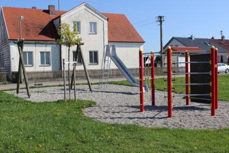 Spielplatz Reichenaustraße Oberglauheim (Foto: VG Höchstädt)