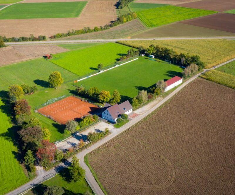 Sportanlagen Lutzingen (Foto: Gemeinde Lutzingen)