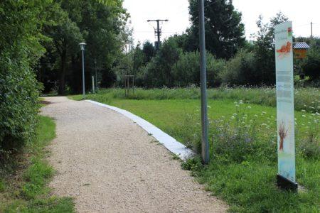 Nebelbachpark Blindheim (Foto: VG Höchstädt)