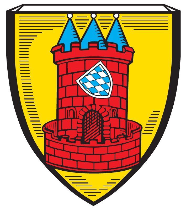 Wappen der Stadt Höchstädt