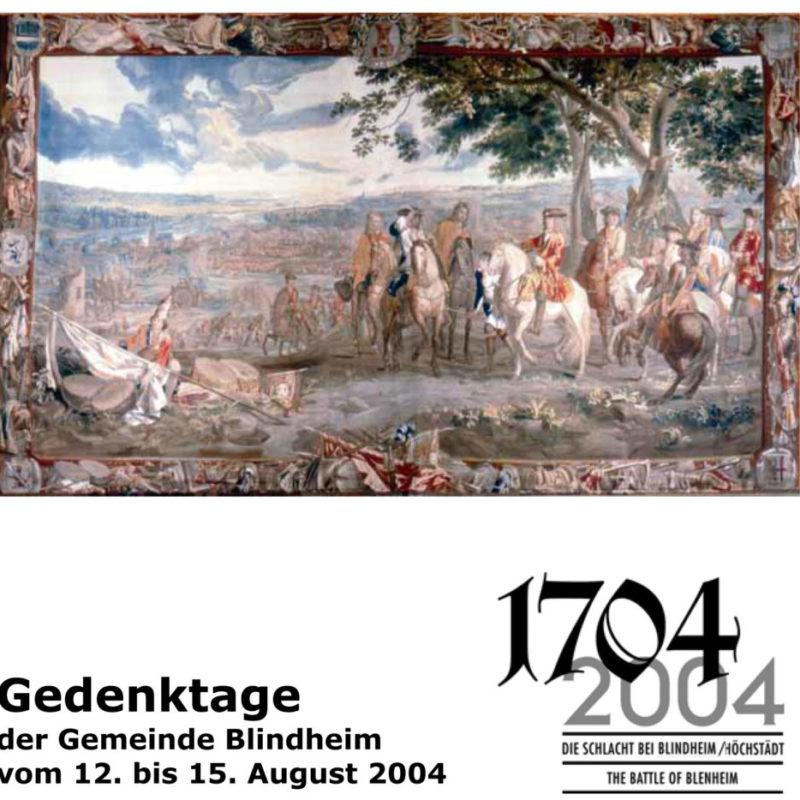 Programm zu den Gedenktagen 2004