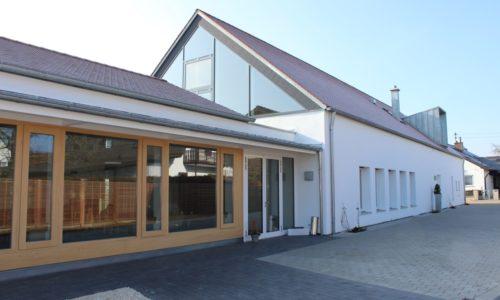 Interkommunales Bürger- & Kulturzentrum Lutzingen (Foto: IBL/VG Höchstädt)