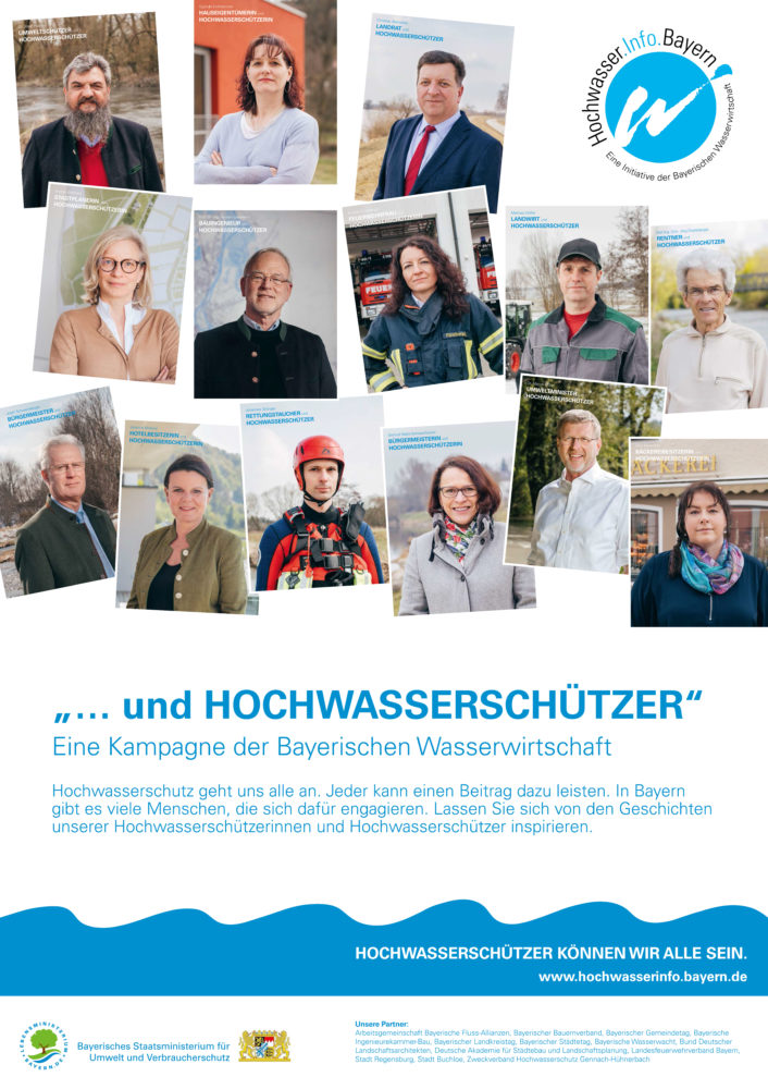 """Kampagne """"...und Hochwasserschützer"""""""