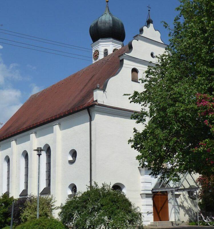 Kirche St. Vitus Unterglauheim (Foto: VG Höchstädt)