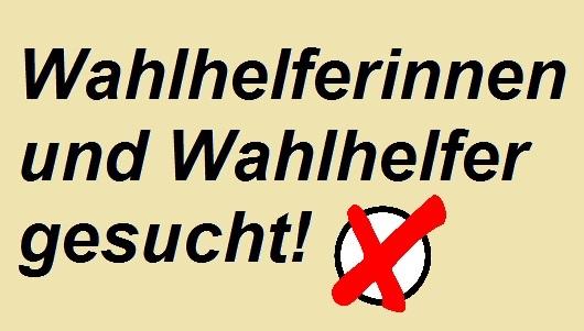 Wahlhelfer gesucht (Verwaltungsgemeinschaft Höchstädt a.d.Donau)