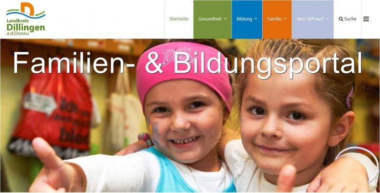 Familien- und Bildungsportal Landkreis Dillingen a.d.Donau