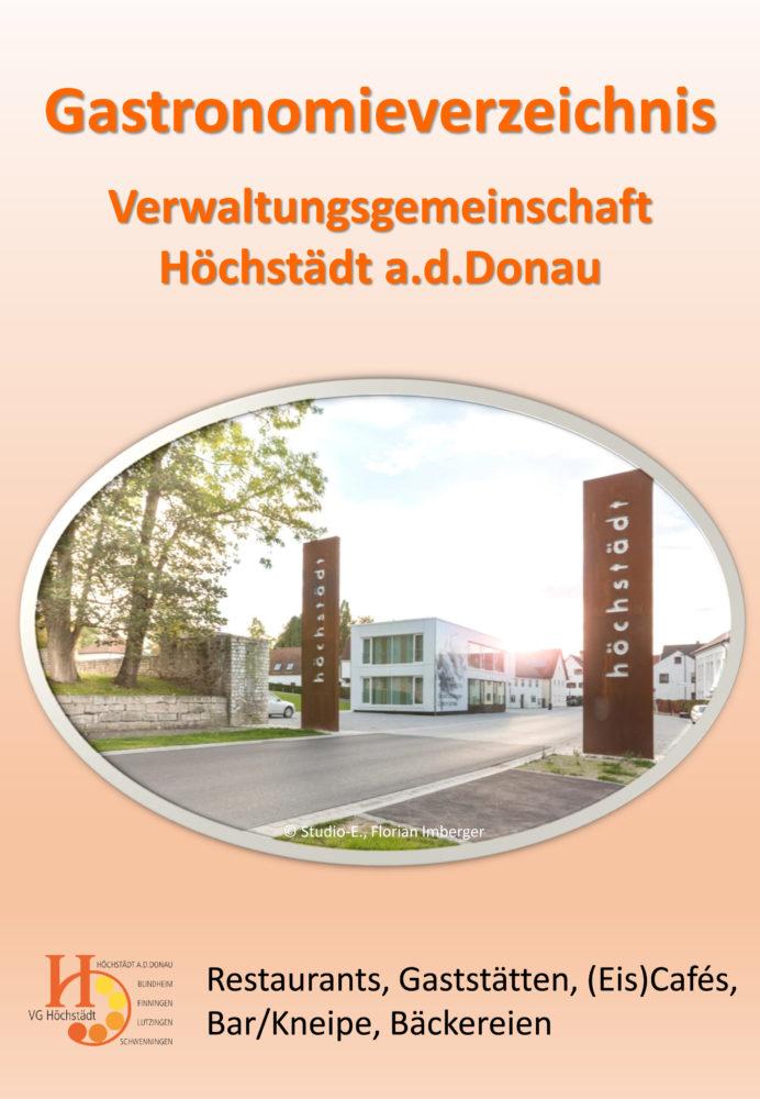 Gastronomieverzeichnis VG Höchstädt a.d.Donau