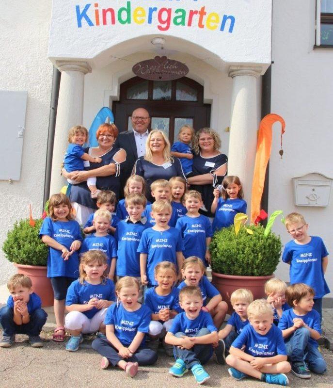 25 Jahre Kneipp-Kindergarten Deisenhofen (Foto: Kneipp-Kindergarten)