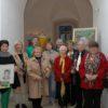 Vernissage zu Ausstellung der Kunstmafia in der Schlosskapelle Höchstädt (Bild: Horst von Weitershausen, DZ)