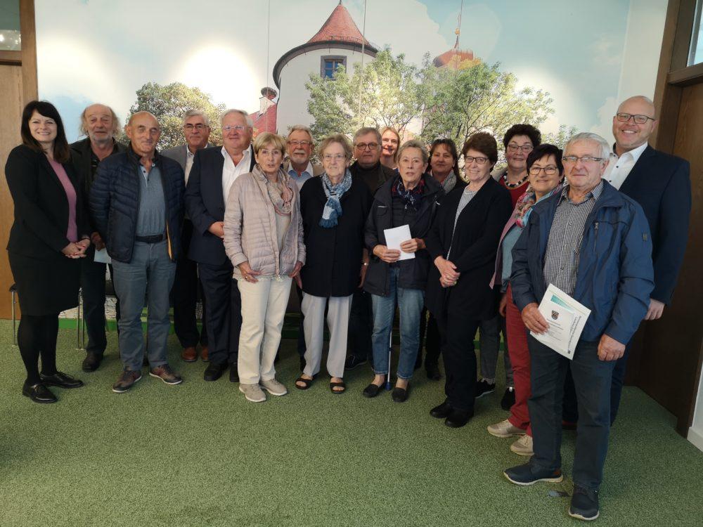 Vorbereitungstreffen zur Gründung eines Seniorenbeirats in Höchstädt (Bild: Claudia Kohout, Stadt Höchstädt)