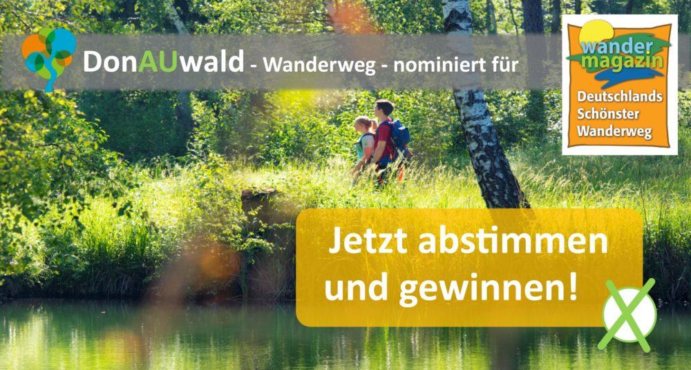 Abstimmung DonAuwald-Wanderweg (Foto: Jenny Kwittung)