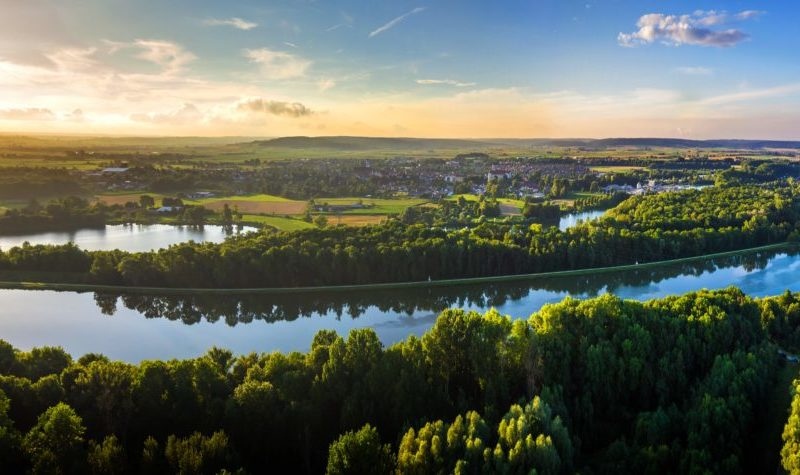 Panoramabild Höchstädt (Foto: Markus Komposch, CreativeJam)