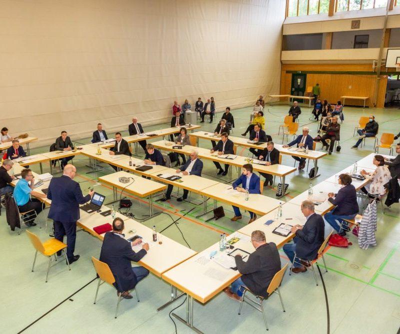 Konstituierende Sitzung Stadtrat Höchstädt (Foto: Benjamin Wilde)