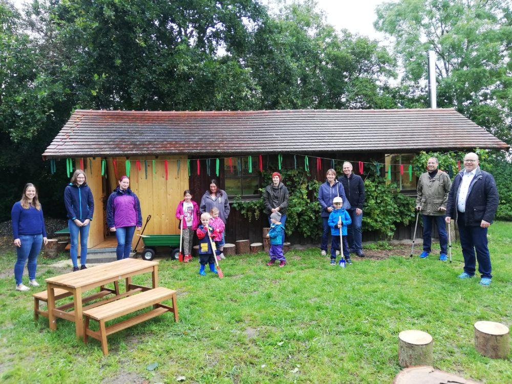 Naturkindergarten Höchstädt (Bild: Tina Hergöth, Stadt Höchstädt)