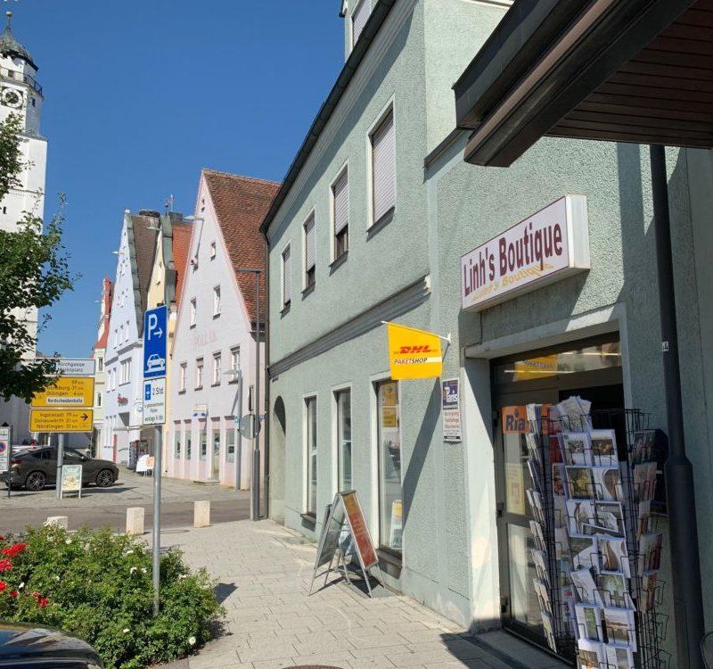 Postfiliale in Linh´s Boutique (Foto: Gerrit Maneth, Stadt Höchstädt)