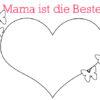 Malvorlage Muttertag (Quelle: https://blog.vertbaudet.de)