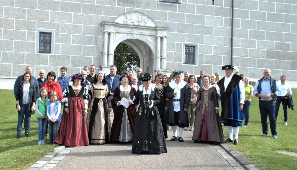 Eröffnung Herzogin Anna Rundweg (Foto: Horst von Weitershausen, Donau Zeitung)